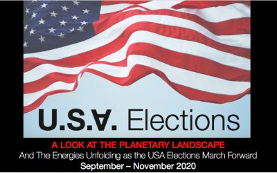 Planetary Highlights – 2020 U.S. Election and Candidates.