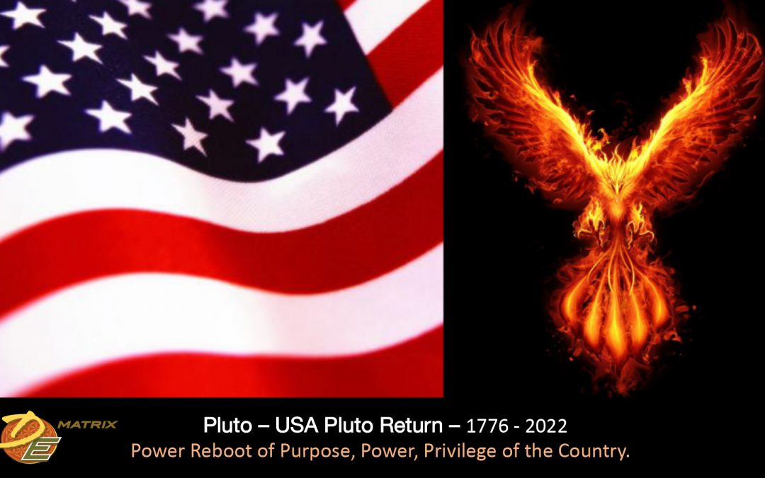 Pluto – USA Pluto Return: Power Reboot of Purpose. Power. Privilege.